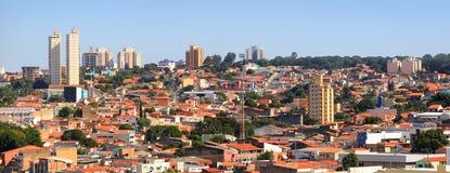 Sorocaba cityscape royaltyfri bild