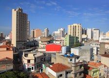 Sorocaba cityscape royaltyfri foto