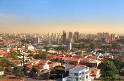 Sorocaba in de staat van Sao Paulo royalty-vrije stock foto
