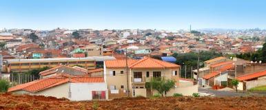 Sorocaba suburbs Stock Photography