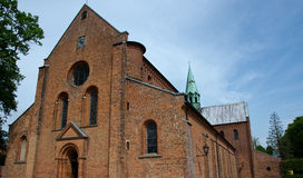 Soroe cathedral. Cathedral of Soroe, Denmark. Famous church with royal graves Royalty Free Stock Photography