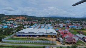 Sorong-Stadt stockfotos