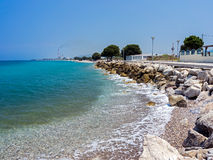 Soroni Beach Rhodes. Soroni Beach on the Aegean coast of Rhodes Island Dodecanese Greece Europe Stock Photos