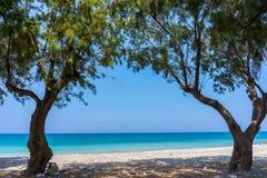 Soroni Beach Rhodes Stock Image
