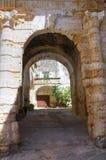 Soronzi palace. Presicce. Puglia. Italy. Soronzi palace of Presicce. Puglia. Italy Stock Photos