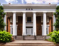Sorority House on a college campus
