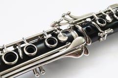 Sorprano klarinett arkivbild