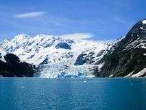 Sorprenda il ghiacciaio al fiordo di Harriman in principe William Sound, ahimè Fotografia Stock