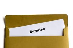 sorpresa Imagenes de archivo