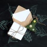 Sorpresa de Kit New Year imagen de archivo libre de regalías