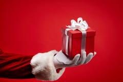 Sorpresa de la Navidad Imagen de archivo libre de regalías
