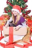 Sorpresa de la Navidad Imagen de archivo