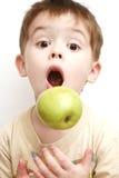 Sorpresa del niño Imagen de archivo