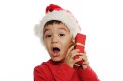Sorpresa di Natale Fotografia Stock