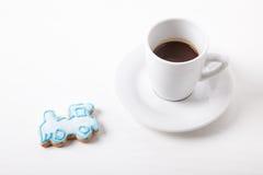 Sorpresa dolce - caffè Immagini Stock Libere da Diritti