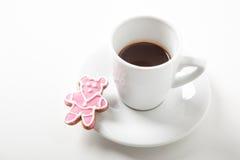 Sorpresa dolce per caffè Immagine Stock