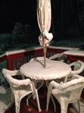 Sorpresa! Ha nevicato Immagini Stock Libere da Diritti