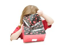 Sorpresa per i bambini Fotografie Stock