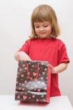Sorpresa per i bambini Fotografia Stock