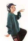 Sorpresa por música Fotos de archivo libres de regalías