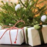 Sorpresas de la Navidad Imagenes de archivo