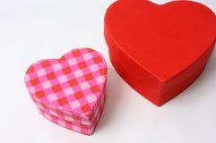 Sorpresas del día de tarjetas del día de San Valentín Imágenes de archivo libres de regalías