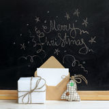 Sorprese di Buon Natale Fotografia Stock Libera da Diritti