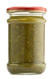 Sorrel. Preserved sorrel on a white background Royalty Free Stock Image