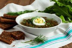 Sorrel soup Stock Photos