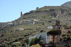 Sorrentine peninsula Italy Stock Photography