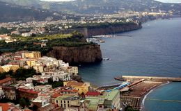Sorrento. The beauty of Sorrento on the Italian Coast Royalty Free Stock Image