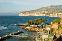 Sorrento. Sumeer vocation in Sorrento, Italy. Evening Royalty Free Stock Photography