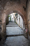 Sorrento. A arch in the old town of sorrento in italy Stock Photography