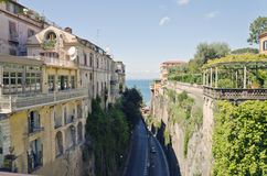 Sorrento. Is a small town in Campania, southern Italy stock photos