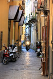 Sorrento Alleyway. An alleyway in Sorrento, Italy Stock Image