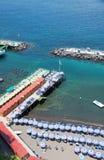 Sorrento, Amalfi Coast, Italy. Sorrento's  beach view, Amalfi Coast, Italy Royalty Free Stock Photography