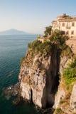 Sorrento, Amalfi Coast, Mount Vesuvius, Campania, Italy Royalty Free Stock Images