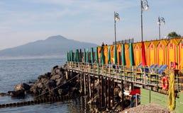 Sorrento Beach Italy Royalty Free Stock Photography