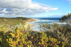 Sorrento beach before the sunset. Sorrento beach, Mornington Peninsula, Victoria, Australia Stock Photo