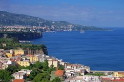 Sorrento. In Campania, the skyline Royalty Free Stock Photo