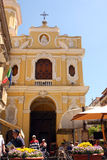 Sorrento church Italy Royalty Free Stock Images
