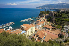 Sorrento city. In Italy, Europe Stock Photo