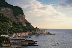 Sorrento Coast. View from Sorrento Coast, Italy stock photography