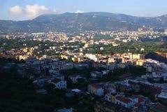 Sorrento Coast. Panoramic view Sorento, Napoli, Italy Stock Images