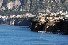 Sorrento coast. The famous coast of sorrento in italy Stock Photos