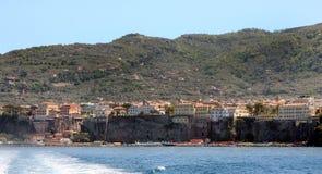 Sorrento Coast Italy Stock Images