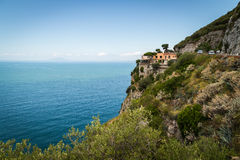Sorrento coast, Italy Royalty Free Stock Photos