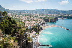Sorrento coast, Italy Royalty Free Stock Image