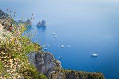 Sorrento coast, Italy Royalty Free Stock Photos