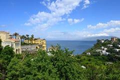 Sorrento Coast. Sorrento - Seiano - Sorrento Coast - Sorrento peninsula Stock Image